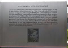 Spitfire Memorial Grangemouth - Sergeant Pilot Eugeniusz Lukomski (eLaReF) Tags: spitfire memorial grangemouth sergeant pilot eugeniusz lukomski