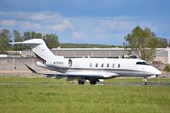 N753QS Challenger CL350 Net Jets (corrydave) Tags: 20722 netjets shannon biz n753qs challenger cl350 bd100