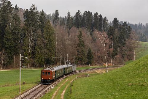 VHE Te 2/3 31 Halbesel bei Gammenthal auf der Emmentalbahn