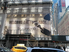 2019 Deadwood The Movie Billboard Times Square 8467 (Brechtbug) Tags: deadwood the movie billboard timothy olyphant ian mcshane molly parker kim dickens brad dourif keith carradine john hawkes jeffrey jones number one times square building below no longer existing orange news zipper ticker 42nd street broadway near 7th avenue new york city 05182019 next walgreens nyc hbo tv series 2004 2006 show television cable 2019