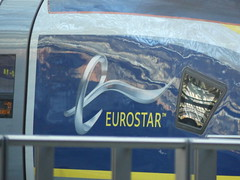374010 branding, St Pancras International (Beer today, red wine tomorrow.....) Tags: class374 branding emu eurostar