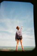 ivy (carmen_canedo) Tags: 35mm minolta portrait sewanee tennessee hiking nature