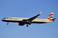 British Airways G-NEOS Airbus A321-251NX cn/8637 @ EGLL / LHR 14-05-2019 (Nabil Molinari Photography) Tags: british airways gneos airbus a321251nx cn8637 egll lhr 14052019