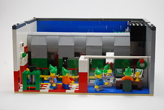 Toy Makers (sema4) Tags: lego elf elves toy shop toymaker