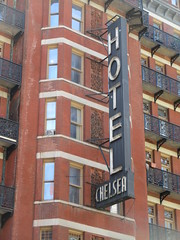 2019 Chelsea Hotel - 222 West 23rd Street NYC 8671 (Brechtbug) Tags: 2019 chelsea hotel reopening month or 222 west 23rd street between 7th 8th avenues nyc 05182019 new york city architecture sign signs built 1884 1885 twelvestory redbrick building that is now was one citys first private apartment cooperatives designed by philip hubert style described queen anne revival victorian gothic features include flower ornamented iron balconies facade grand staircase it tallest