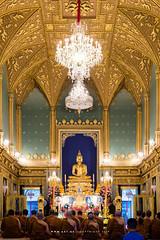 Phra Buddha Angkiros in Phra Ubosot, Wat Ratchabophit (aey.somsawat) Tags: architecture bangkok buddhastatue buddhism buddhisttemple gothic phrabuddhaangkiros temple thaiarchitecture thailand ubosot wat watratchabophit westernthaiarchitecture