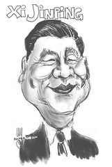 Xi Jinping (Z0649) #caricature #caricatures #sktchyapp #portraitpage #sketching #instadraw #caricatura #drawing #cartoons #instaart #sketchaday #visualdevelopment #drawings #conceptart #painter #art_empire #arts #illustrationartist #illustration #characte (ArtMagenta) Tags: artmagenta sketch drawing painting art