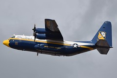 164763 (LAXSPOTTER97) Tags: 164763 united usn states navy lockheed c130t hercules blue angels fat albert cn 5258 airport aviation cyxx airplane 2018 abbotsford international airshow