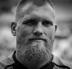 Brad Shields (davidhowlett) Tags: ricoharena quins wasps coventry waspsrugby gallagher ricoh rugbyunion pre rugby iership harlequins