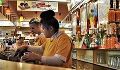 Harbour Bar, Scarborough. North Yorkshire (ManOfYorkshire) Tags: harbourbar theharbourbar scarboroufgh yorkshire diner northyorkshire seafront institution mustsee staff prepare icecream retro venue cafe alonzi alonzis 1950s inspired costumes