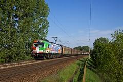MRCE 193 640 Connected by rail + 46705 Rostock Seehafen - Trevisio  - Kuhfort (Rene_Potsdam) Tags: mrce br193 vectron railroad treinen trains trenes züge kuhfort brandenburg deutschland europe europa werbelok