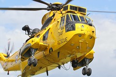 (scobie56) Tags: westland seaking har3 xz590 f 202 squadron aflight raf royal air force boulmer northumberland sar search rescue