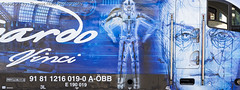 ÖBB, 1216 019-0 : Leonardo Da Vinci (Thomas Naas Photography) Tags: österreich austria eisenbahn railways zug züge train lokomotiven lokomotives fahrzeuge outdoor wörgl werbung advertising spezialbemalung specialpaint öbb siemens taurus es64u4 leonardo da vinci gudrun geiblinger