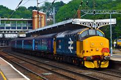 DRS 37409 & 37405 Work the EACH Express 3 through Ipswich 18/5/19 (Lewis43239) Tags: class 37 railtour geml short set thrash 374 br blue each express 3