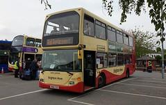 Brighton & Hove 668 (YN06 SZX) Barnham Station 19/5/19 (jmupton2000) Tags: yn06szx east lancs scania omnidekka brighton hove uk bus goahead south coast bhd rail railway replacement