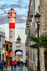 Leuchtturm Rota (juvhadamar) Tags: rota spanien espana espagne andalucía andalusien altstadt leuchtturm lighthouse rot