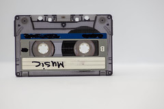 Cassette isolated against white background (Rushay) Tags: retro isolated music cassette tape portelizabeth southafrica