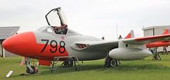 XG743 D.H SEA VAMPIRE FISHBURN (toowoomba surfer) Tags: jet aeroplane aviation aircraft preserved aviationmuseum