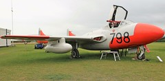 XG743 DH  SEA VAMPIRE FISHBURN (toowoomba surfer) Tags: jet aeroplane aviation aircraft preserved aviationmuseum