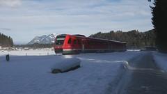 612er im Schnee (TrainspotterLitchi) Tags: oberstdorf langenwang deutschland db 612 br612 schnee winter schneeaufnahmen immenstadt trainspotterlitchi trainspotting deutschebahn