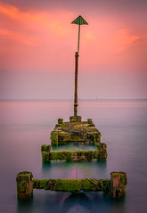 Outlet ! (Andrew J Hulson) Tags: zeiss55mm18 sonya7r2 englishchannel sea groynes uk england hampshire solent eastney portsmouth southsea south coast