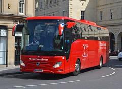 Redwing BV19 YHD (tubemad) Tags: bv19yhd 283 mercedes tourismo redwing coaches evanevan