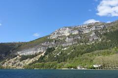 Nantua Lake @ Hike around Lac de Nantua (*_*) Tags: marche walk randonnee nature montagne mountain hiking 2019 printemps spring may nantua ain france europe jura