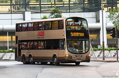 Volvo B9TL With Wright Gemini 3 Bodywork With KMB ChanpineGold Livery (chungleung1) Tags: chanpinegold volvo volvobuses 12m wright wrightbus gemini3 hk hkbus hongkong kmb b9tl magichour olympicstation avbwu691 vc6048 914