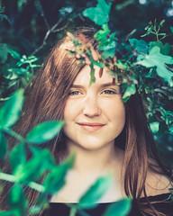 Within the Green (AndyBakerUK) Tags: andybakeruk andybakerphotography tamron2875mmf28diiiirxd a73 a7iii sony bakeroninsta sonya7riii girl leaves woods