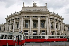 Hofburgtheater (JaaniicB) Tags: vienna hofburg theater sigma 1750mm f28 austria der burg national tram line imperial court foregeround canon 1200d city travel
