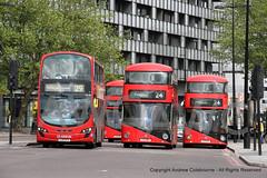 IMG_1138-060519 (andrewcolebourne) Tags: london londonbus transportforlondon arrivalondon metroline ratp londonunited volvo b5lh wright gemini newroutemaster hv99 lj13fcz wn woodgreengarage route29 lt158 ltz1158 v stamfordbrookgarage route27 lt13 ltz1013 lt31 ltz1031 hollowaygarage ht route24