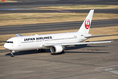 JA656J_Boeing767-300ER_JapanAirlines_HND (Tony Osborne - Rotorfocus) Tags: boeing 767 767300er japan airlines tokyo international airport haneda 2019 hnd jal
