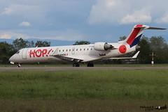 Bombardier CRJ -701 HOP F-GRZI 10093 Entzheim Evadays avril 2019 (Thibaud.S.) Tags: bombardier crj 701 hop fgrzi 10093 entzheim evadays avril 2019
