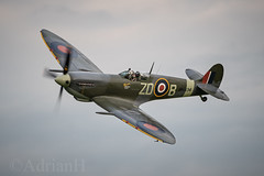 Spitfire MH434 (AdrianH Photography) Tags: nikon aviation aeroplanes airshows aircraft warbirds