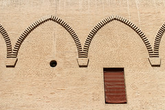 Ferrara-5 (e.berti93) Tags: ferrara architecture architettura art italy brick urban antico monumento castello estense piazza città bike