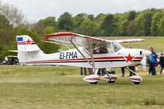 EI-FMA (davfog2002) Tags: microlight trade fair popham airfield