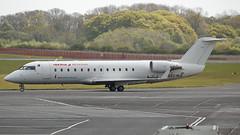 EC-MJE (Rob390029) Tags: air nostrum bombardier crj200 ecmje newcastle airport ncl egnt