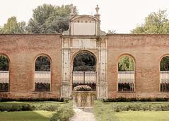 Ferrara-17 (e.berti93) Tags: ferrara architecture architettura art italy brick urban antico monumento castello estense piazza città bike