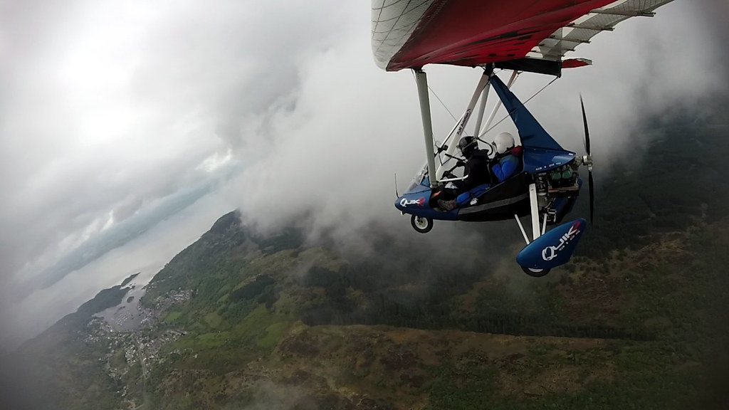 Squeaking through the clouds to see if Tarbert offered an escape route home