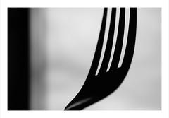 Macro Mondays : Silhouette / The Fork / La fourchette (Tostaky2) Tags: contrast noiretblanc blackdiamond blackandwhite monochrome macro fork fourchette contrejour macrounlimited macromondays bwartaward
