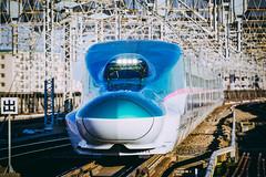 E5 Series_U10 (hans-johnson) Tags: sharyo jr car nagomi omiya oomiya saitama japan nihon nippon asia 車輌 車両 jr西日本 新幹線 レール 鉄道 鉄 電車 1435 和 さいたま 埼玉 関東 日本 kanto ジャパン アジア canon eos 5d 5d3 5dm3 5diii kinki kinkisharyo hokuriku shinkansen railway kagayaki rail vehicle train 列車 車 transit transport transportation 交通 hdr vsco vscocam vscofilm lightroom lr jreast e4 toki tanigawa max joetsu shinetsu 70200mm hitachi blue yellow bullettrain emu highspeed e5 e5系 yamabiko hayabusa nasuno tohoku