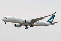 Cathay Pacific A350XWB (Martyn Cartledge / www.aspphotography.net) Tags: 350 350xwb a350 a350xwb aero aeroplane air aircraft airfield airline airliner airplane aspphotography aviation aviator blrm bangkok cathaypacific civil flight fly flying jet plane subvarnabhumi transport wings wwwaspphotographynet asp photography