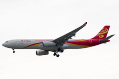 Hong Kong Airlines A330 (Martyn Cartledge / www.aspphotography.net) Tags: plane airplane photography fly flying wings bangkok aircraft aviation air transport flight jet aeroplane civil airline asp aviator airliner aero airfield subvarnabhumi aspphotography wwwaspphotographynet