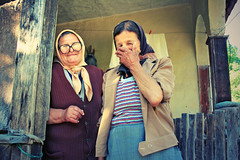 That World, 2008, Serbia (AIeksandra) Tags: travel portrait people woman rural village serbia social shy balkans anthropology viviennewestwood staraplanina baltaberilovac 100daysofresistance