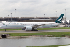 Cathay Pacific A350-900 (Martyn Cartledge / www.aspphotography.net) Tags: 350 a350 350900 plane airplane photography fly flying wings bangkok aircraft aviation air transport flight jet aeroplane civil airline airbus asp aviator airliner aero airfield cathaypacific a350900 aspphotography blrf wwwaspphotographynet