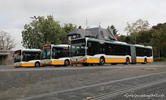 120 Jahre elektrisch - HEAG Darmstadt (apfelpudding) Tags: darmstadt heag hessen tagderoffenentür bus autobus omnibus linienbus citaro2 c2 mercedesbenz rmv nahverkehr öpnv urbanmobility publictransport