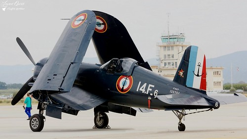 F-AZYS / 14F-6 / 133704 - Vought F4U-7 Corsair