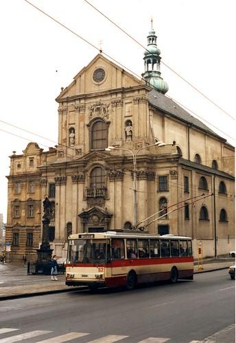Opava trolleybus nr 62. ****rescan     Feb 1992 ©  sludgegulper