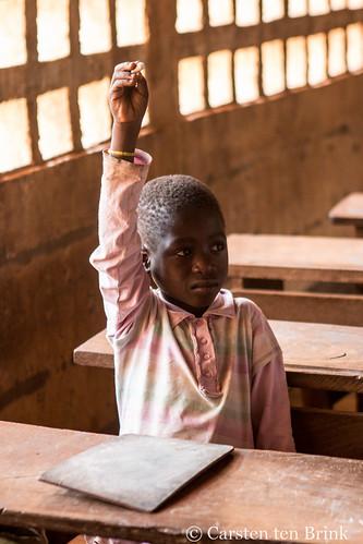 Togo - Kambole schoolboy