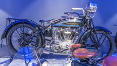 1923 Husqvarna Modell 500 motorcycle (Gösta Knochenhauer) Tags: 2017 december panasonic lumix fz1000 dmcfz1000 bike museum mc collection sollentuna stockholm sverige sweden schweden svezia suecia p9130056nik p9130056 nik 1923 husqvarna modell 500 motorcycle leica lens